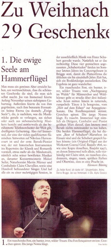 frankfurter allgemeine Schubertiade